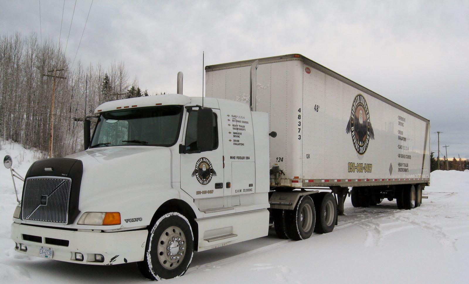 2002 Volvo Truck & 48' Dorsey Trailer
